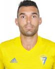 Barral, jugador del Cádiz CF.